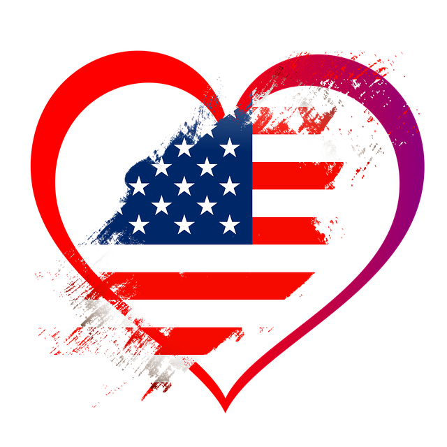 heart us flag