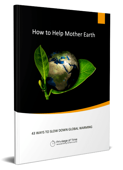 how to help mother earth