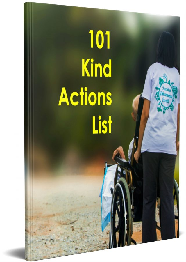 ebook 101 kind actions list cover