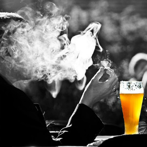 addiction smoke alcohol