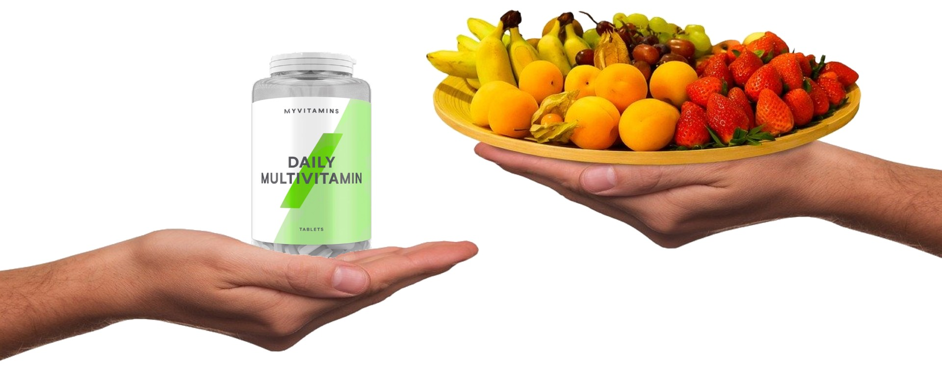 synthetic vitamines vs those in food